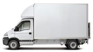 waste removal van