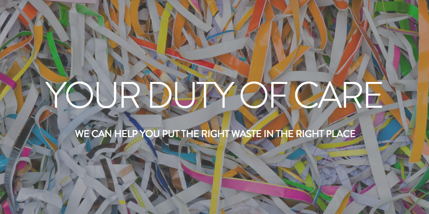 RIght Waste Right Place Duty of Care